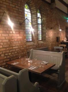 The Church Restaurant, Rostrevor - Seating Area