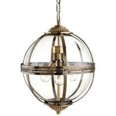 Firslight Mayfair Bronze Globe Pendant