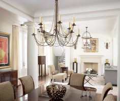 Glorious-Murray-Feiss-Lighting-Website-Decorating-Ideas-Images-in-Dining-Room-Traditional-design-ideas-