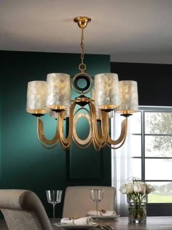 schuller-eden-pendant-lamp-6-lights-gold-leaf