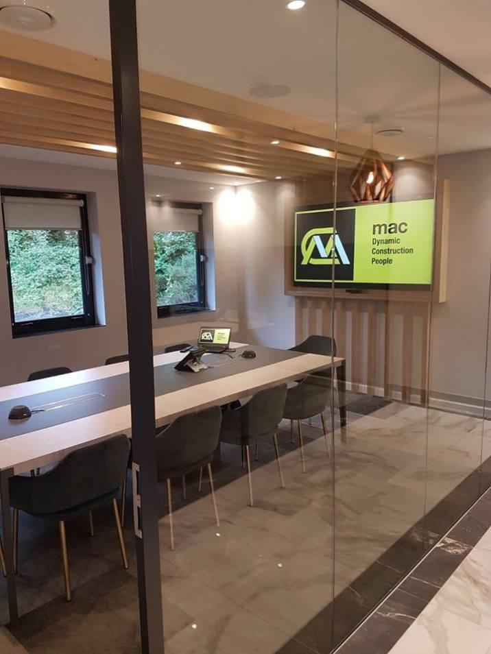 Mac Interiors Conference Room Newry   Clanrye Lighting Newry