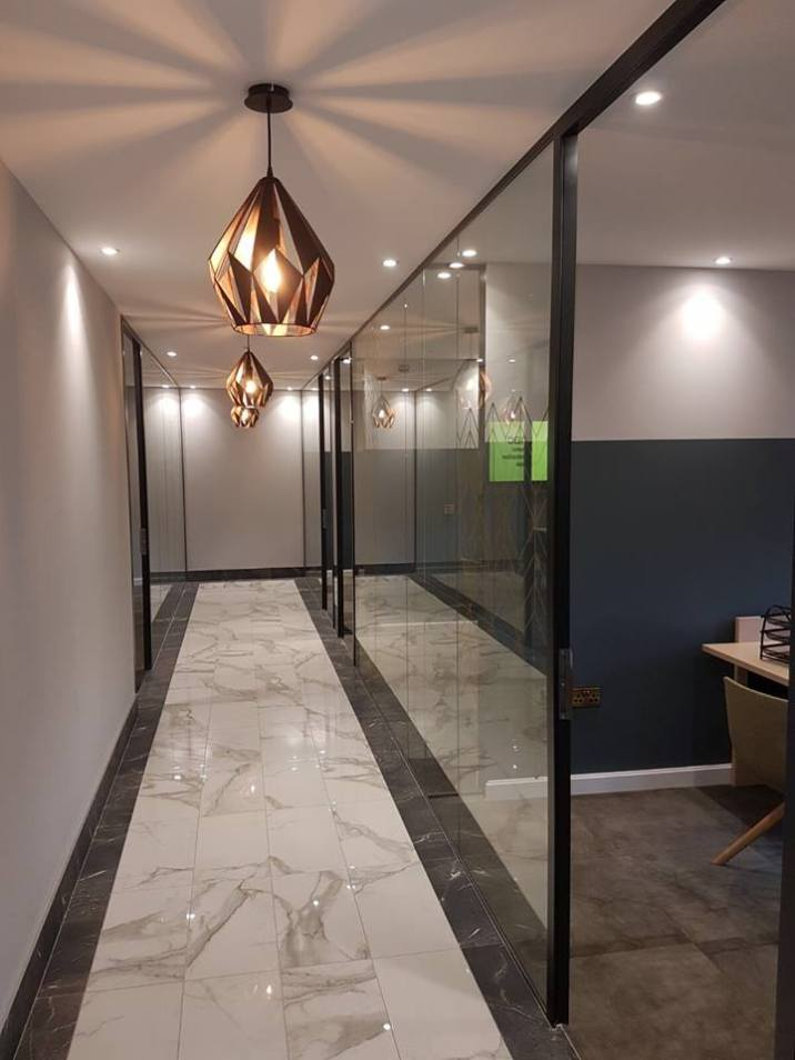 MAC Interiors Newry Offices | Clanrye Lighting Newry