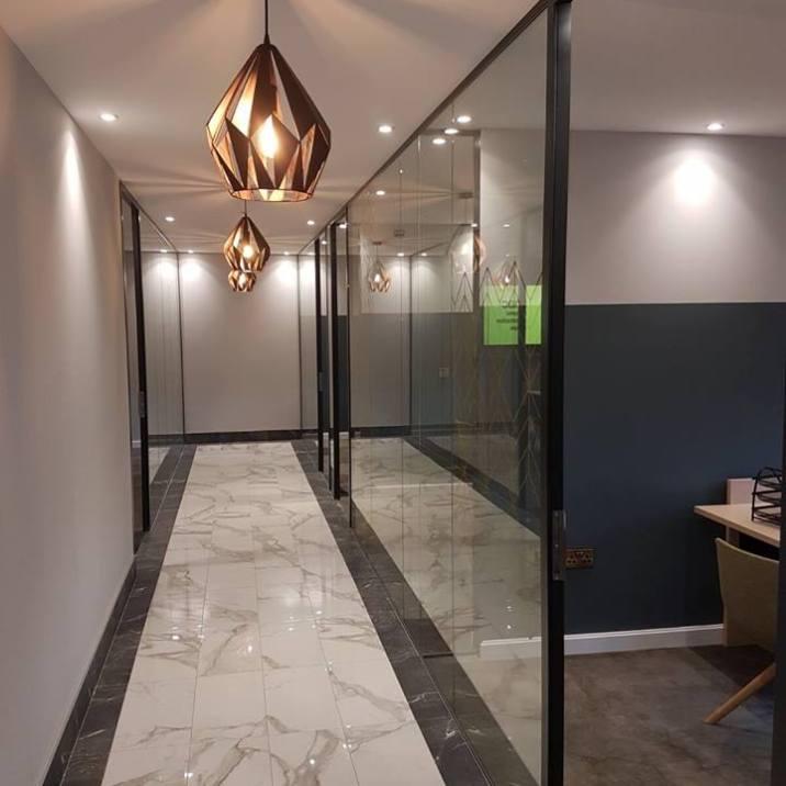 MAC Interiors Newry Offices | Clanrye Lighting Newry