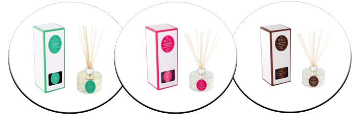 Flagstaff Newry and Clanrye Lighting Deluxe Signature Range Reed Diffuser