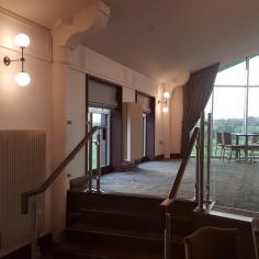 Bola Glass Wall Lights Foyle Golf Club Derry