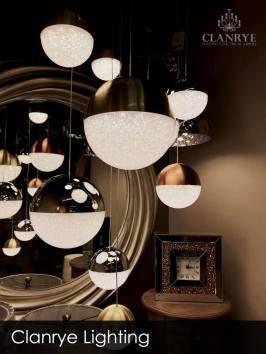 Modern LED Globe Light Balls Chrome Copper Gold Ireland Lighting Stores